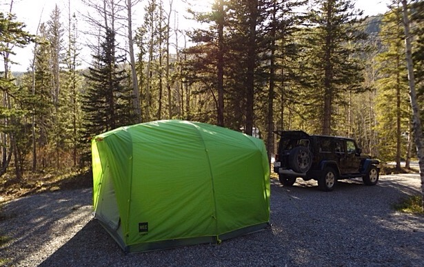 A new Kananaskis campground (well, it was already there, just new to me)