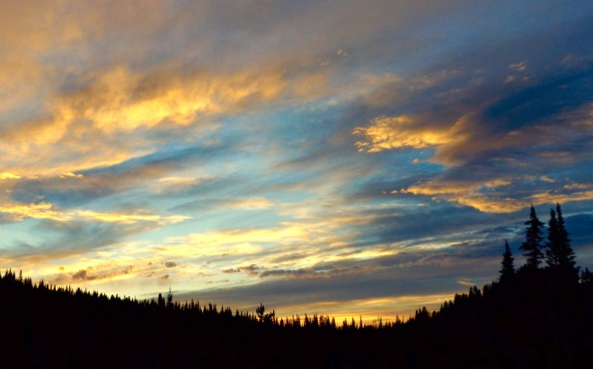 The big sky was so grand...too large to capture effectively!