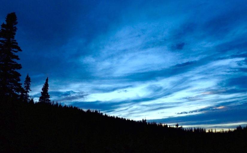 Montana Evening Sky
