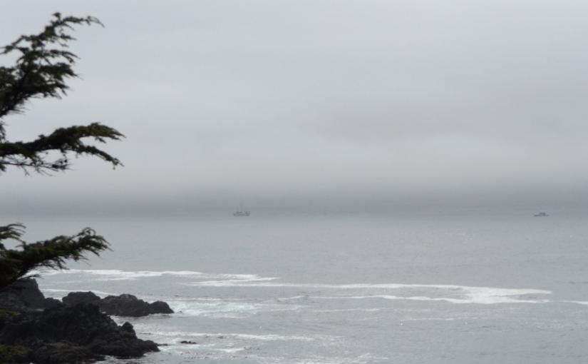 Sea and sky…