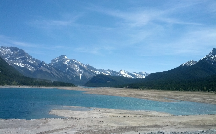 The Spray Lakes shake